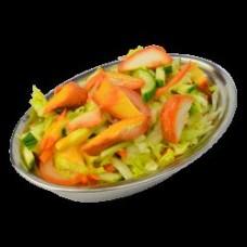 Zeleninový salát s grilovaným kuřetem (A3,A7,A10)